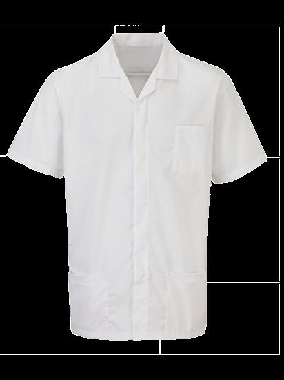 super white advantage tunic for males
